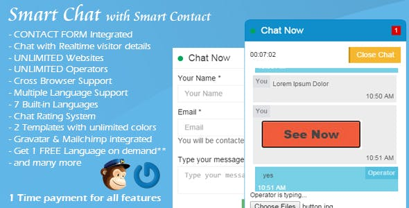 Smart Chat - Live Chat Software