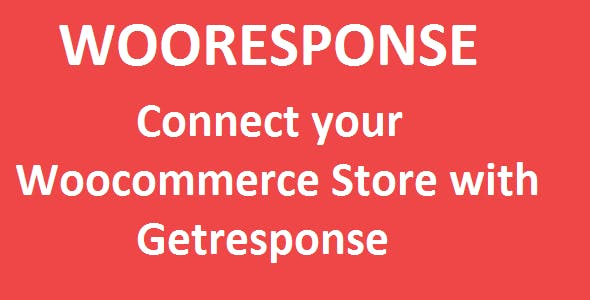 Woocommerce Getresponse Integration