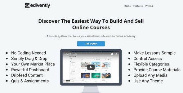 Edivently LMS by edivently | CodeCanyon