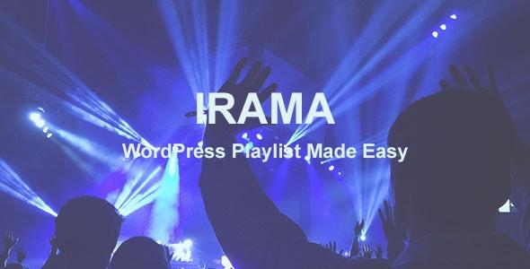 Irama - WordPress Playlist Made Easy - CodeCanyon Item for Sale