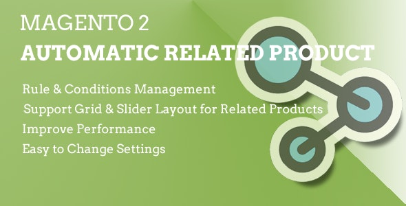 Magento 2 Automatic Related Product - CodeCanyon Item for Sale