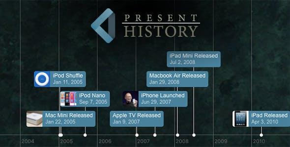 Present History Custom Timelines