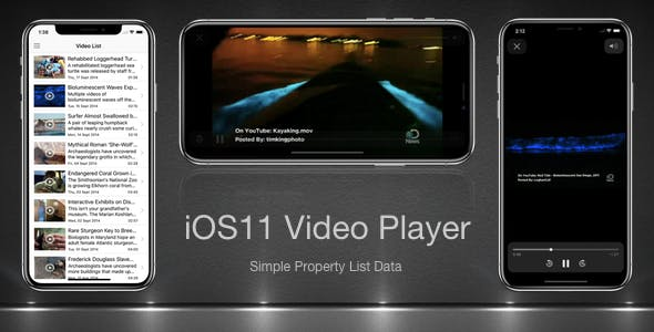 iOS11 Video Player