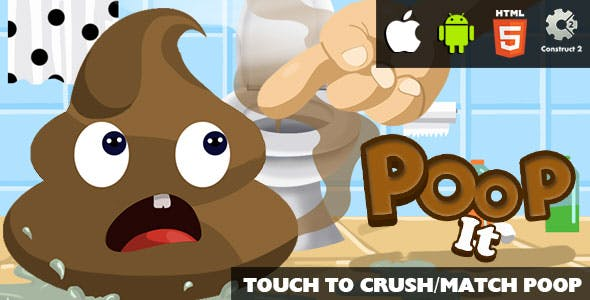 Poop It - HTML5 Game (CAPX)
