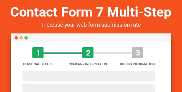 Multi Step for Contact Form 7 Pro - CodeCanyon Item for Sale
