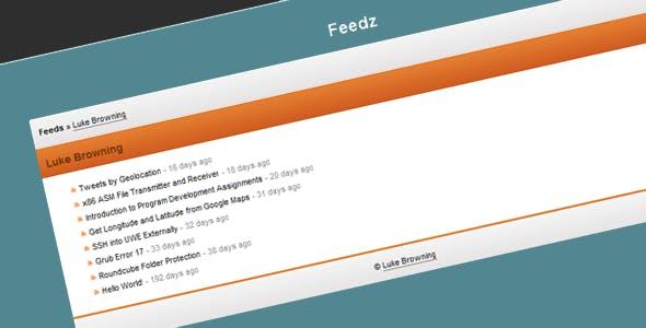Feedz RSS Reader