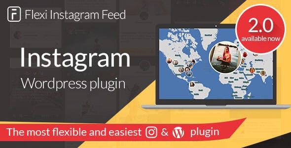 Instagram Feed - Flexi plugin for WordPress