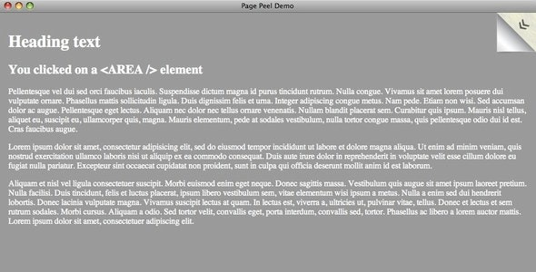 JSized Page Peel - CodeCanyon Item for Sale