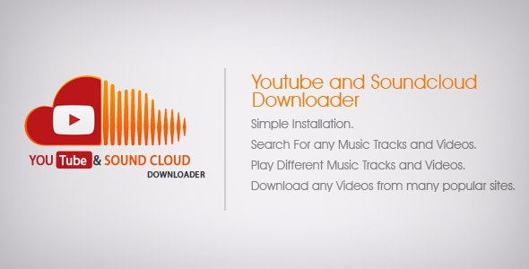 YouTube and Soundcloud Music Downloader Android Admob Ads - CodeCanyon Item for Sale