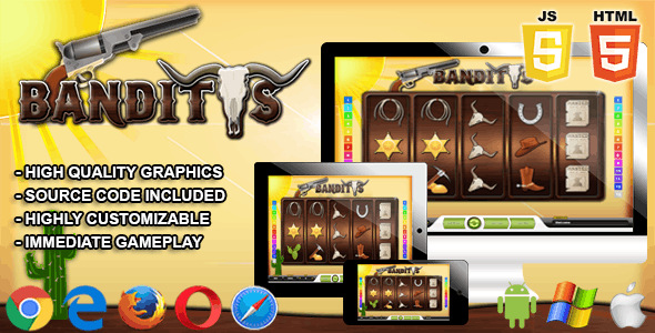 Banditos - HTML5 Casino Game