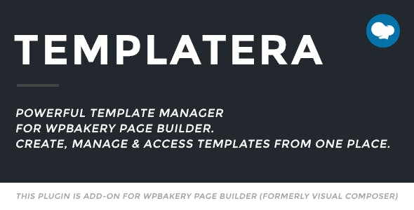 Templatera - Template Manager for WPBakery Page Builder