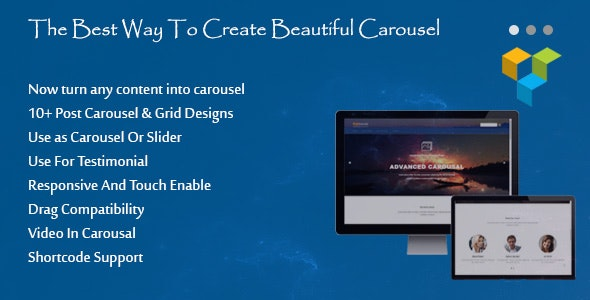 Ultimate Carousel For WPBakery Page Builder (formerly Visual Composer) - CodeCanyon Item for Sale