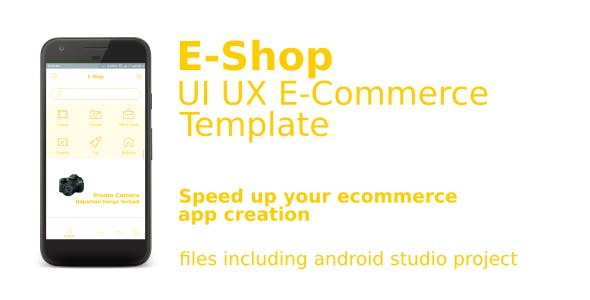 UI UX EShop E-Commerce Template