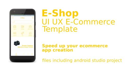 UI UX EShop E-Commerce Template - CodeCanyon Item for Sale