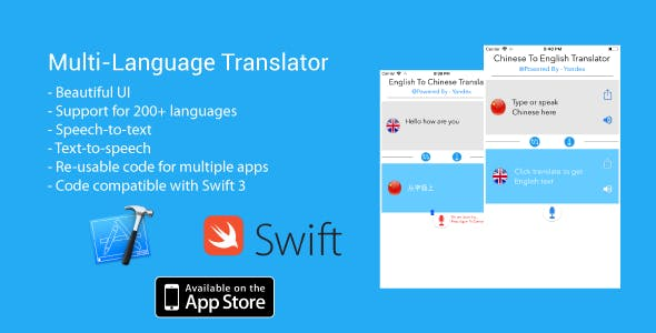 Multi-language speech & text translator