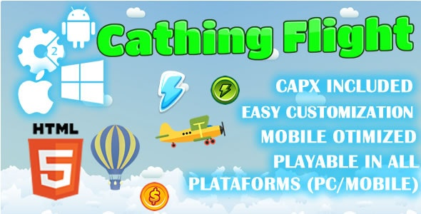 Cathing Flight - HTML5 Game (Capx) - CodeCanyon Item for Sale