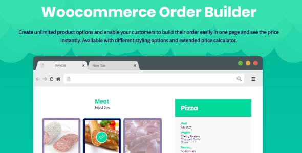WooCommerce Order Builder | Combo Products & Extra Options