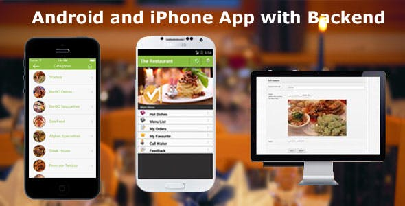 Restaurant Order Mobile App  - Android & iOS