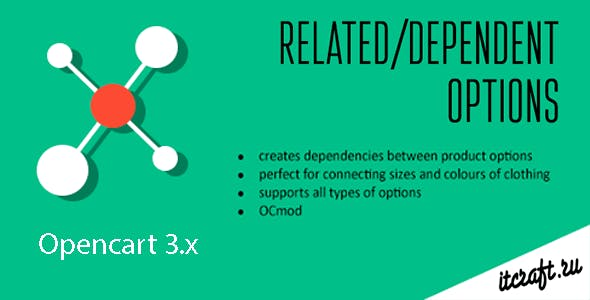 Dependent/Related Product Options (Opencart 3.x)