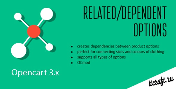 Dependent/Related Product Options (Opencart 3.x) - CodeCanyon Item for Sale