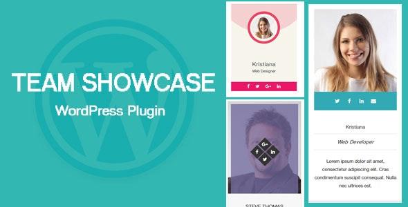 Team Showcase - WordPress Plugin - CodeCanyon Item for Sale