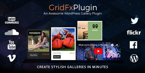Grid FX - Ultimate Grid Plugin for WordPress        Nulled