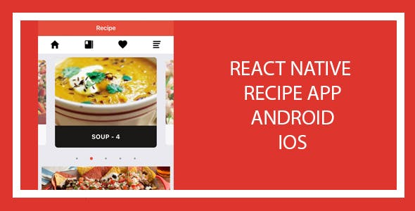 Recipe App - React Native App