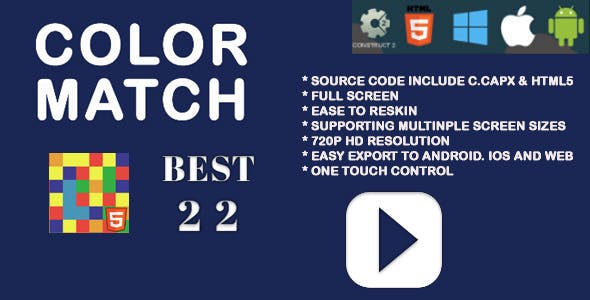 Color Match HTML Game