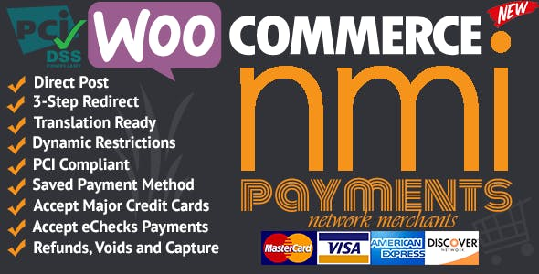 WooCommerce Network Merchants (NMI) Payments