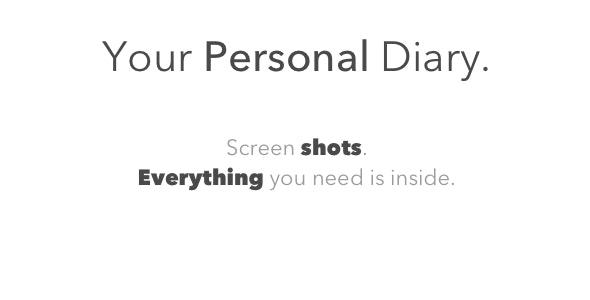 Personal Diary | Swift 4 - Firebase