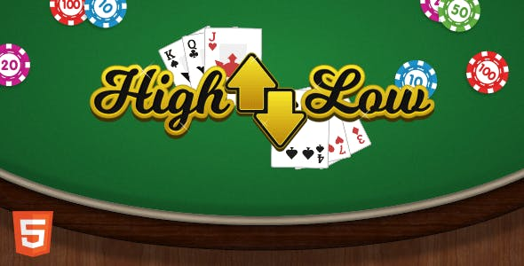 High Low - HTML5 Casino Game
