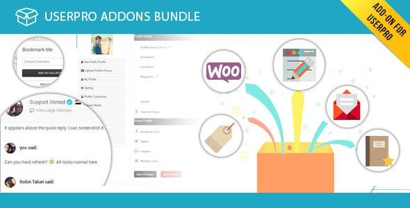 UserPro Addons Bundle - CodeCanyon Item for Sale