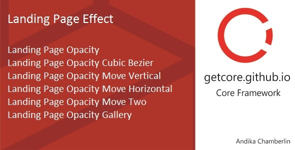 Landing Page Effect - CodeCanyon Item for Sale