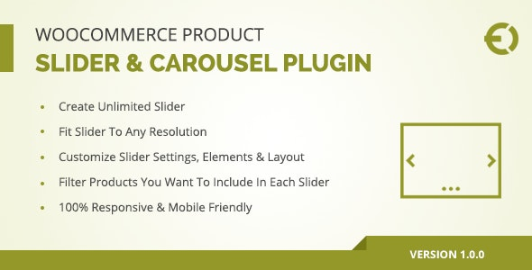 WooCommerce Product Slider & Carousel Plugin - CodeCanyon Item for Sale