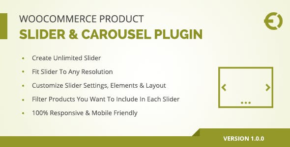 WooCommerce Product Slider & Carousel Plugin