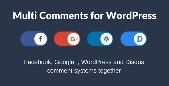 Multi Comments For WordPress (+VK Comments) - CodeCanyon Item for Sale