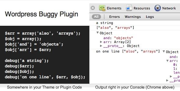 WordPress Buggy Plugin - CodeCanyon Item for Sale