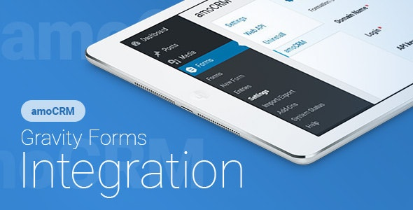 Gravity Forms - amoCRM - Integration - CodeCanyon Item for Sale