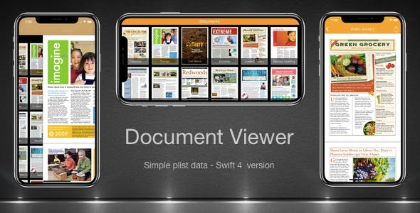 Document Viewer App Swift 4