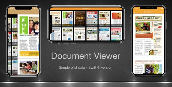 Document Viewer App Swift 4 - CodeCanyon Item for Sale