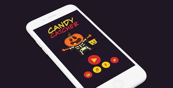CANDY CATCHER WITH ADMOB - IOS XCODE FILE
