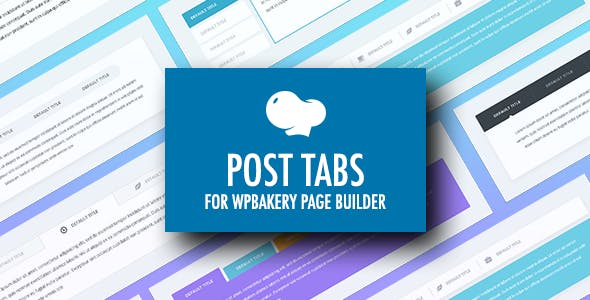 Post Tabs for WPBakery Page Builder (Visual Composer)