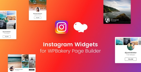 Instagram Feed Gallery for WPBakery Page Builder (Visual