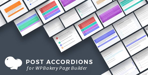 Post Accordions for WPBakery Page Builder (Visual Composer)