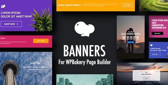 Banners for WPBakery Page Builder (Visual Composer)