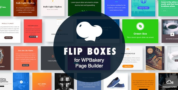 Flip Boxes for WPBakery Page Builder (Visual Composer) - CodeCanyon Item for Sale