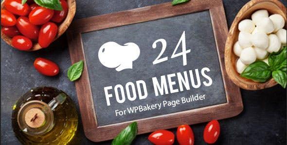 Restaurant Food Menus for WPBakery Page Builder (Visual Composer)