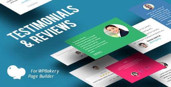 Testimonials and Reviews for WPBakery Page Builder (Visual Composer)