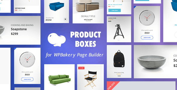 Product Boxes for WPBakery Page Builder (Visual Composer)