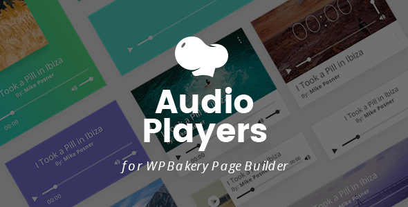 MP3 Audio Players for WPBakery Page Builder (Visual Composer)